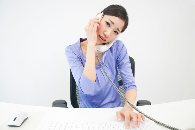 電話の相手が怒っているとき