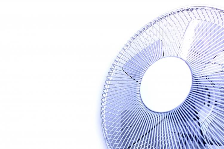 扇風機を使う