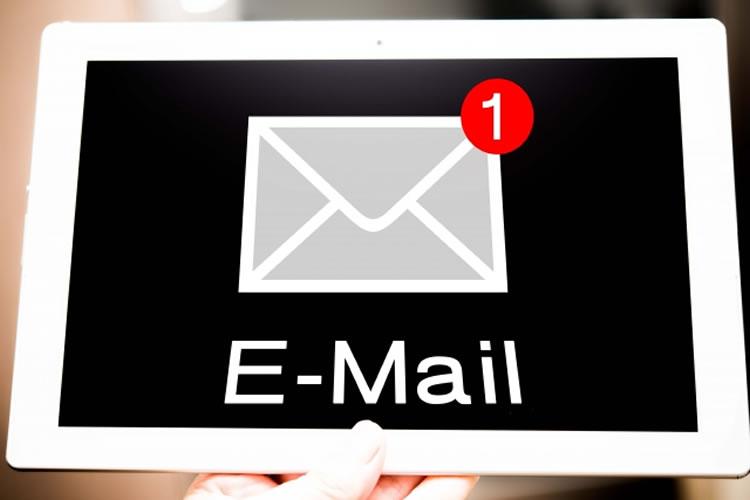 メールの本文は短く