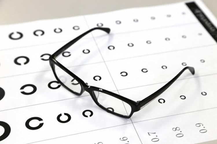 視力検査のC