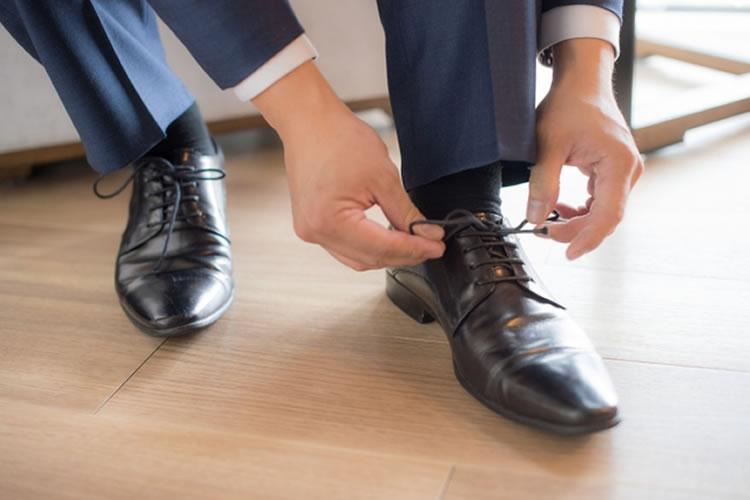 靴を毎日履き替える