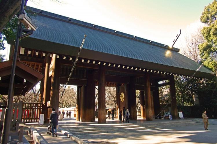 開花予想は靖国神社の桜が基準