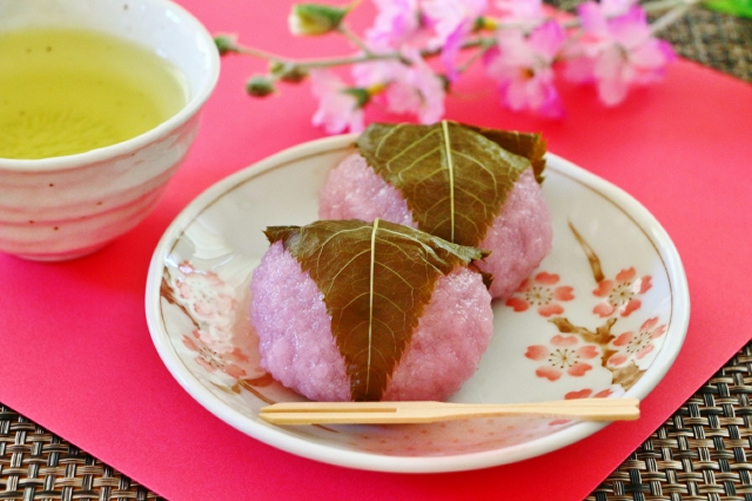 桜餅の葉を食べても大丈夫?