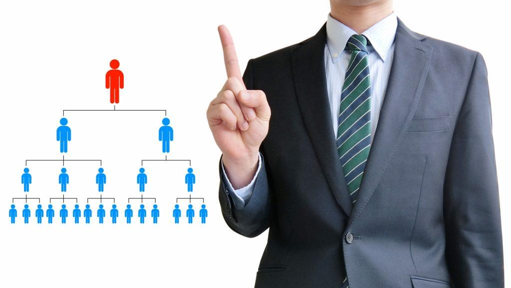 部・課・室・係など組織図の種類と違い