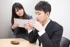 営業先でのお茶やコーヒーの飲み方のマナー