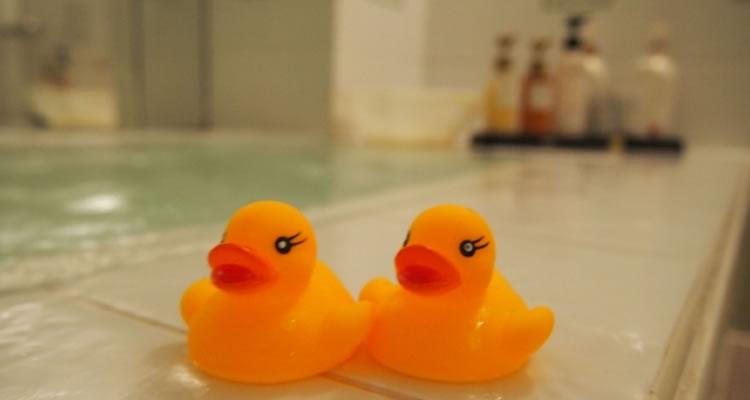 適切な入浴で眠気を誘う