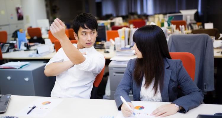 業務を行う上で協力することは当たり前