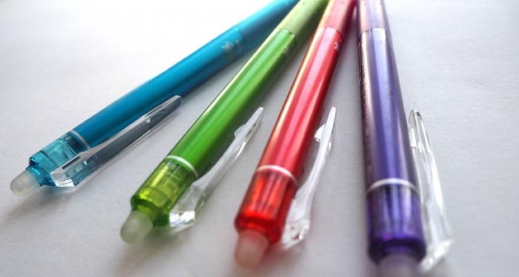 ボールペンや万年筆
