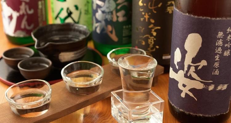 ワインや日本酒、焼酎などの酒類
