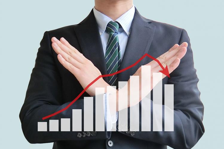 経済成長率の低迷