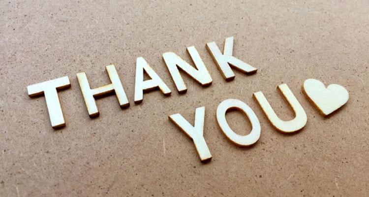 感謝や報告をする時クッション言葉