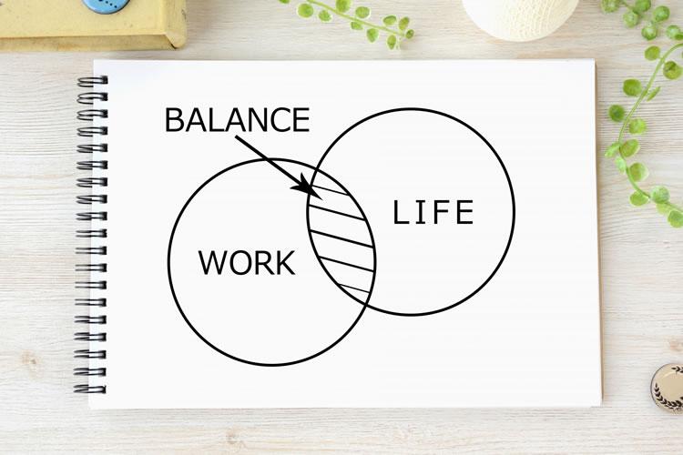 仕事とプライベートのワークバランスを図りやすくなる