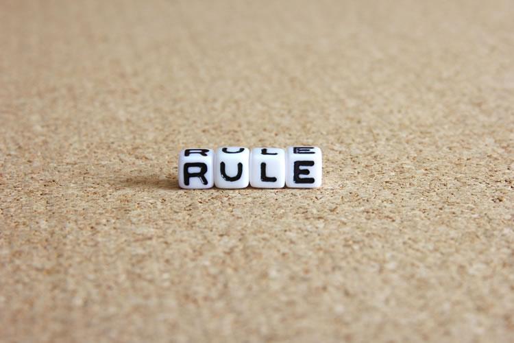 会社のルールを守る
