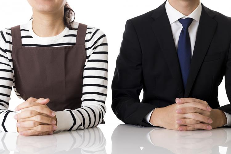 同じ会社でも職種によって違いが出る