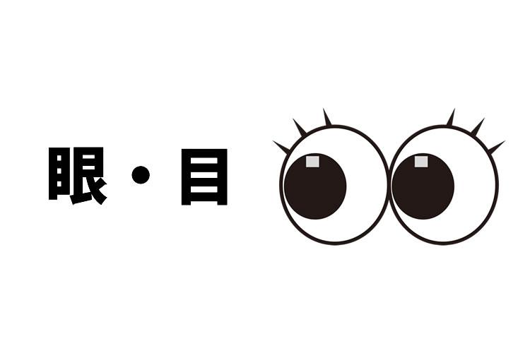 「眼」と「目」の意味と違い