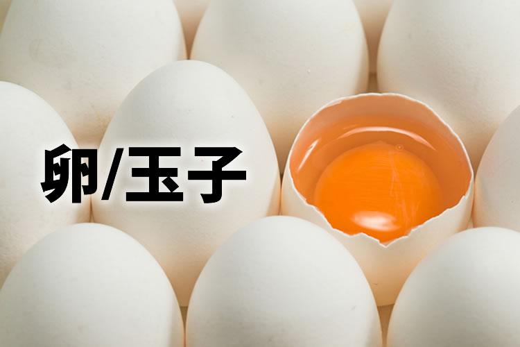 「卵」「玉子」の意味と違い