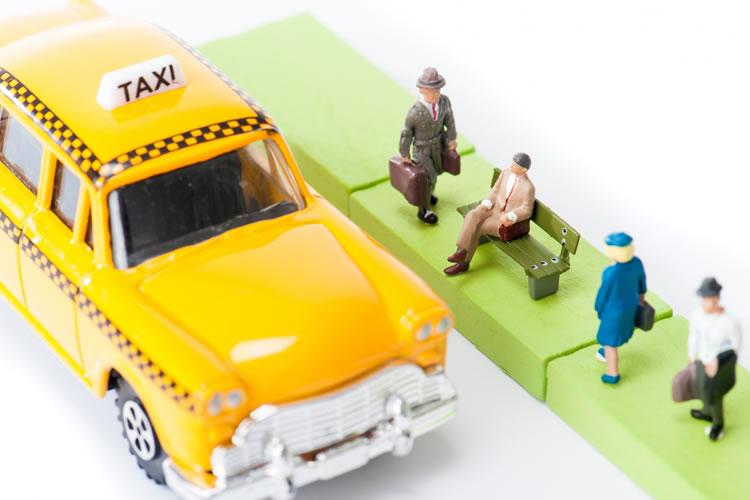 幸運の黄色いタクシー