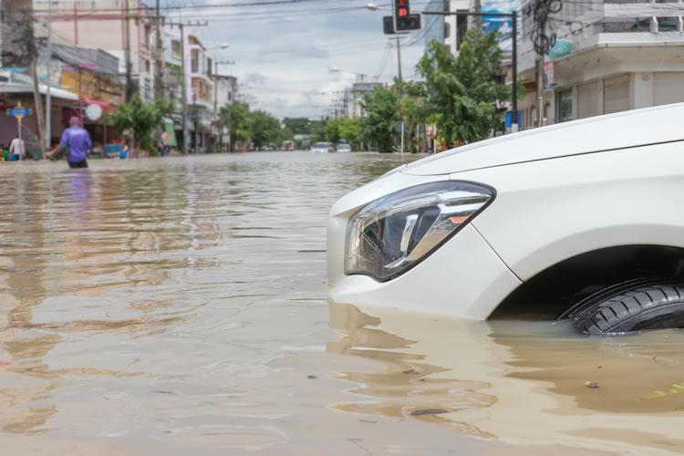 陸地の浸水・海没