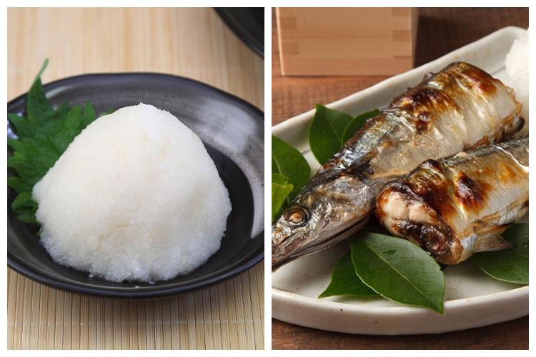 大根おろし+焼き魚