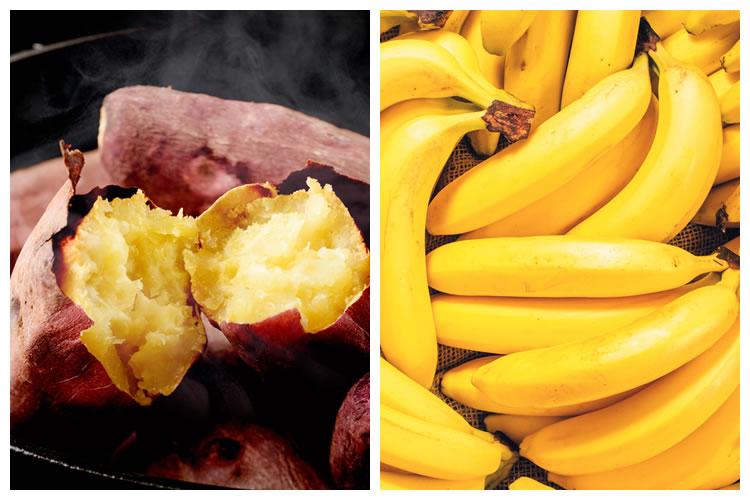 さつまいも+バナナ