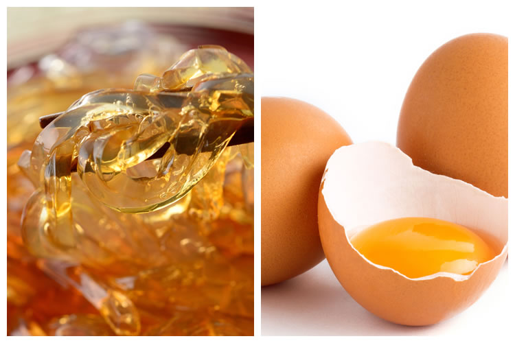 ところてん+生卵