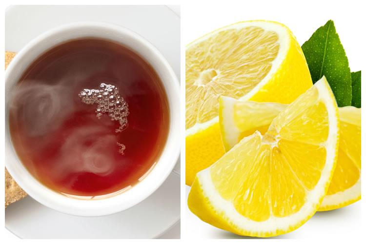 紅茶+レモン