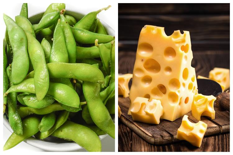 枝豆+チーズ