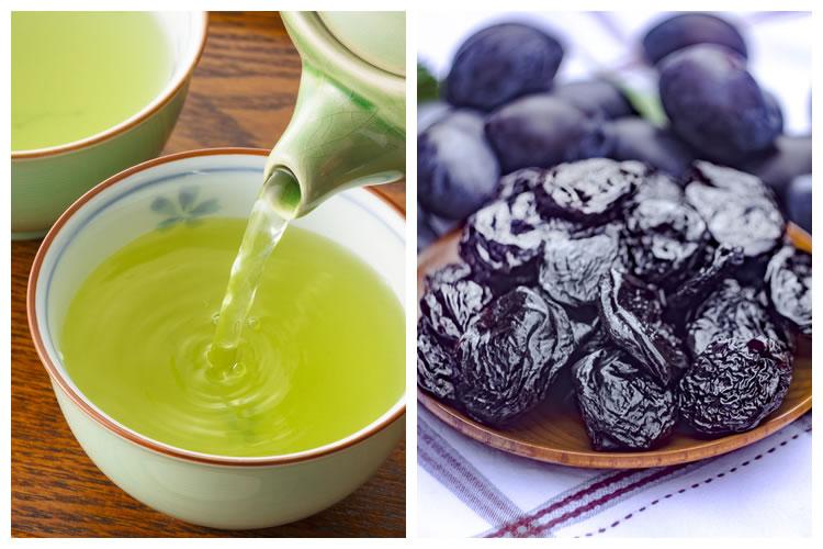 お茶+プルーン