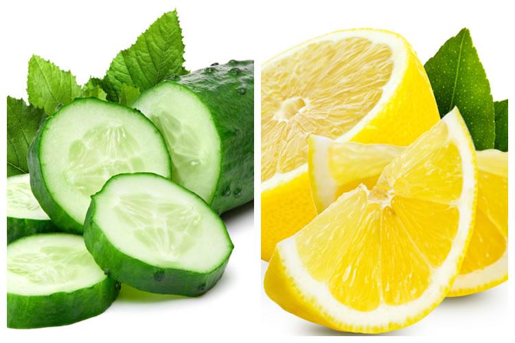 きゅうり+レモン