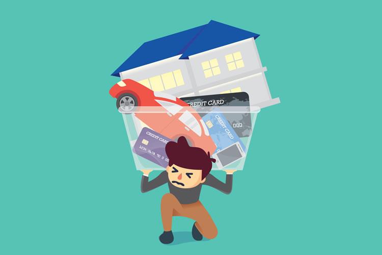 「債務」「負債」「借金」の意味と違い