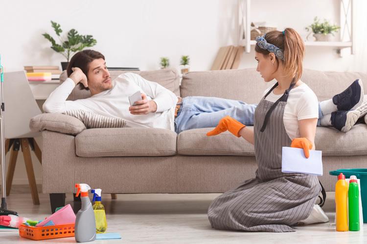臨機応変に対応できるような家事の分担を