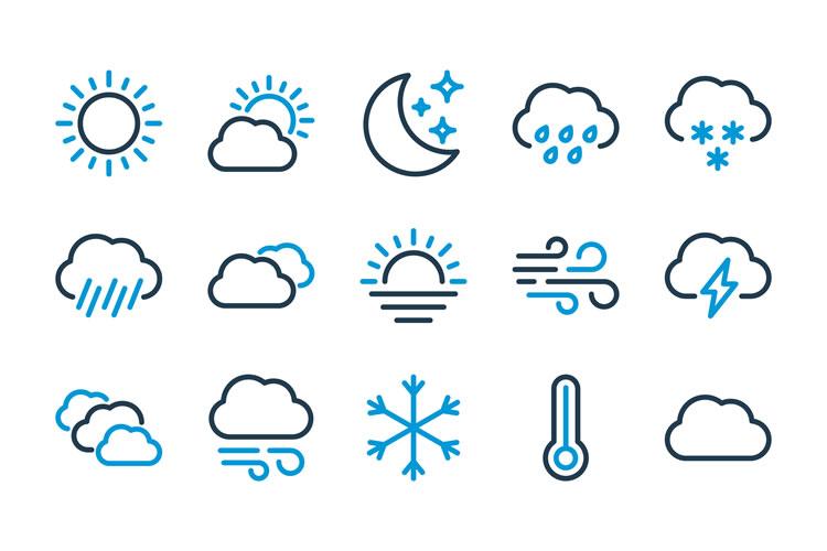 「天気」「天候」「気候」「気象」の意味と違い