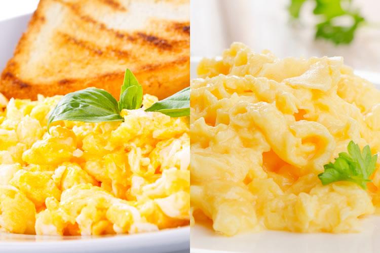 「炒り卵」と「スクランブルエッグ」の違い