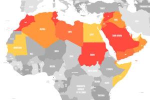 「中東」「中近東」「UAE(アラブ首長国連邦)」の意味と違い