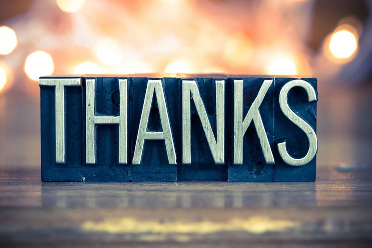 感謝の伝え方が足りない