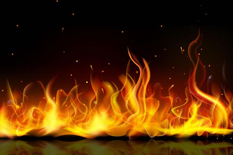 「燃やす」「焼く」の意味と違い