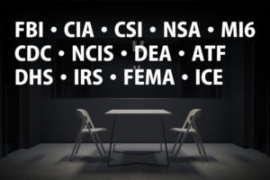 「FBI」「CIA」「CSI」「NSA」「MI6」「CDC」「NCIS」「DEA」「ATF」「DHS」「IRS」「FEMA」「ICE」の意味と違い