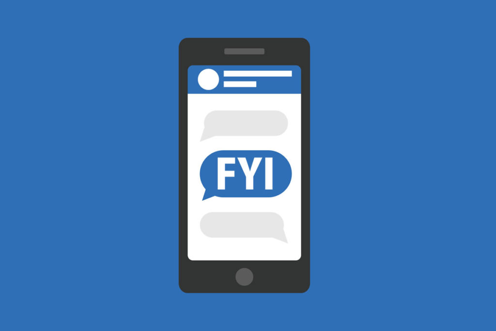 「FYI」の意味とは?使い方や例文