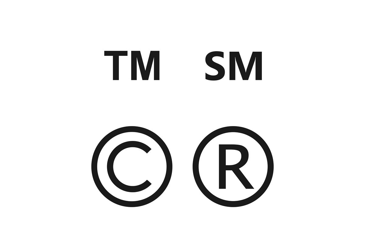 「R」「TM」「SM」「C」マークの意味と違い