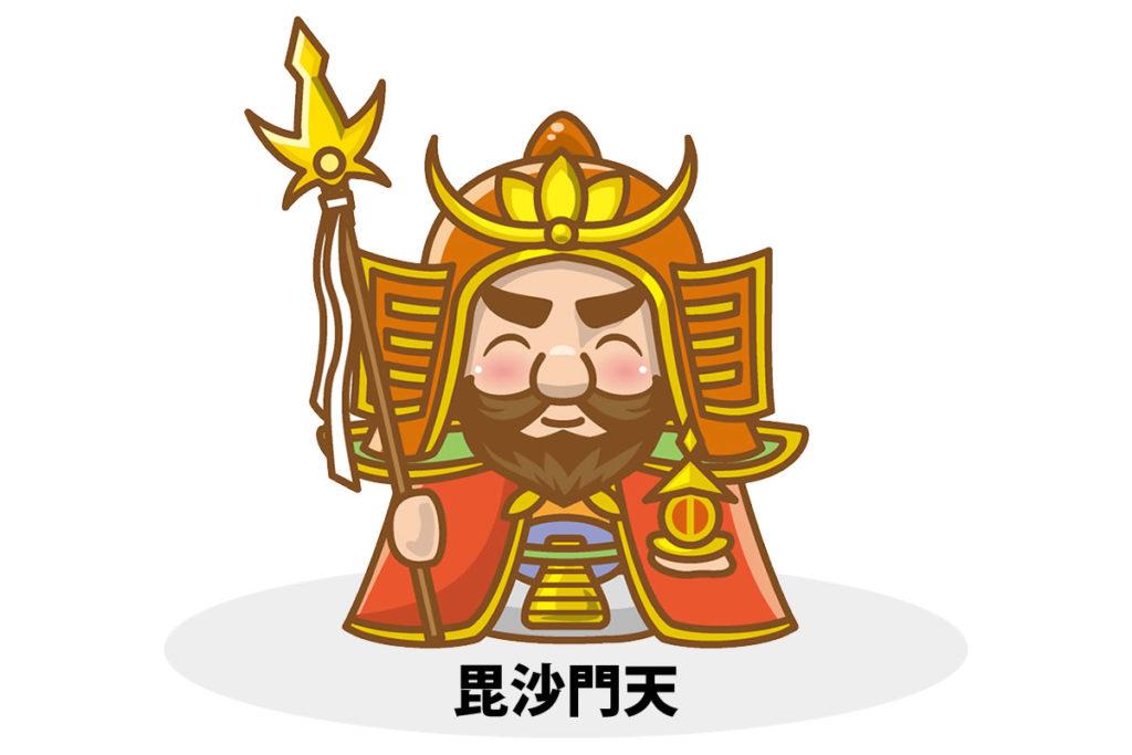 毘沙門天(びしゃもんてん)