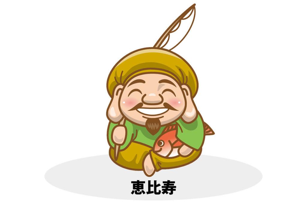 恵比寿・恵比須(えびす)