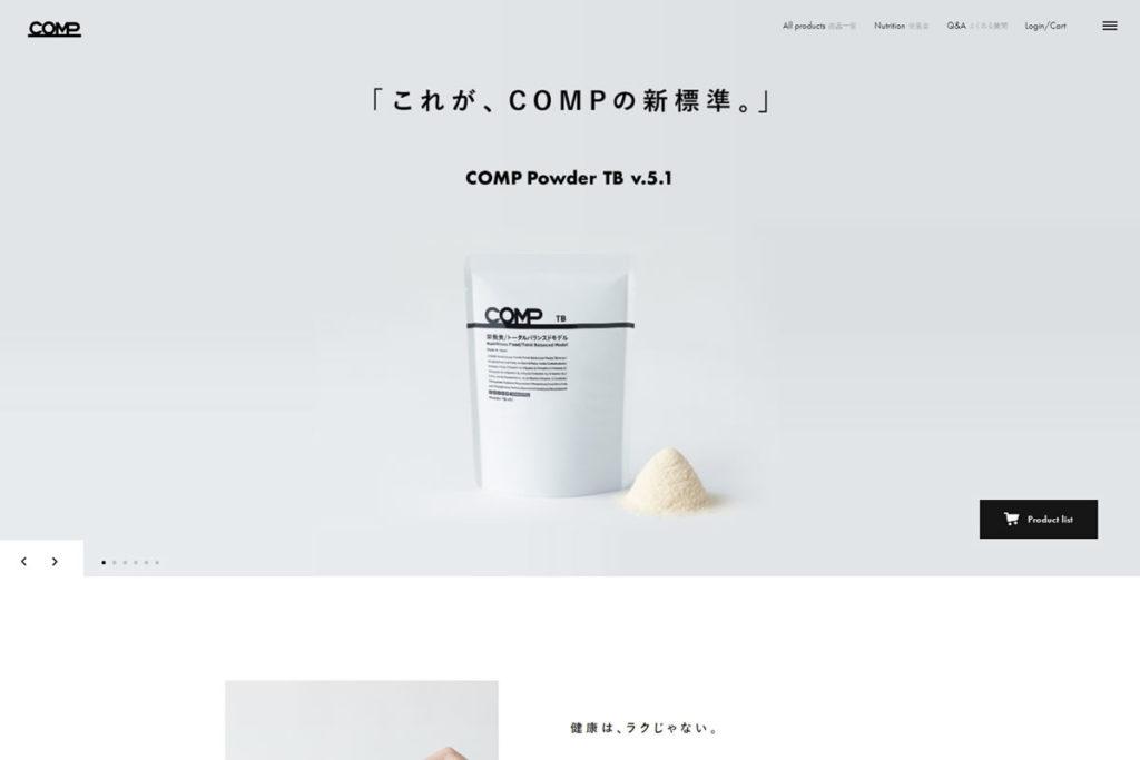株式会社COMPの「COMP」