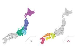 「北日本」「東日本」「西日本」の違いは?
